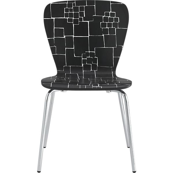 felix-black-white-pattern-side-chair